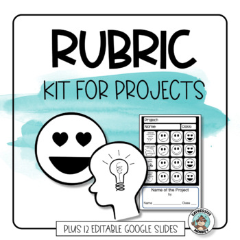 Rubric Template Kit for Writing Rubrics TpT