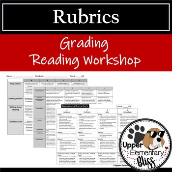Free Reading Rubrics Resources  Lesson Plans Teachers Pay Teachers