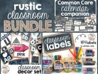Rustic Classroom Decor BUNDLE by Polka Dots Please   TpT