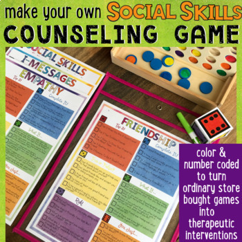 SOCIAL SKILLS Counseling Game Conflict Resolution, I-Messages