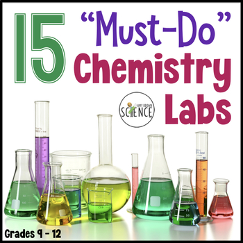 Chemistry Lab Bundle 15 Must Do Labs by Amy Brown Science TpT