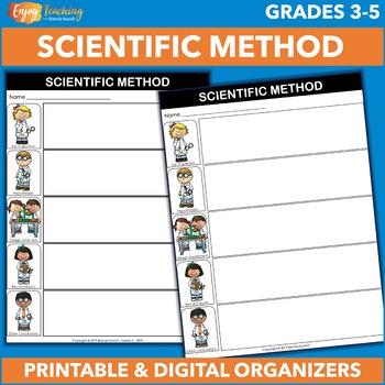 Scientific Method Graphic Organizers - Fair Test and Experiment