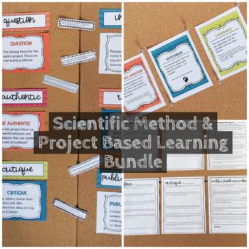 Scientific Method  Project Based Learning Bundle TpT