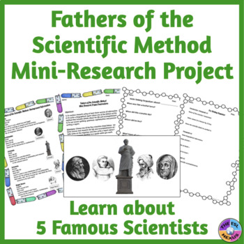 Fathers of the Scientific Method Research Project by The ESL Nexus