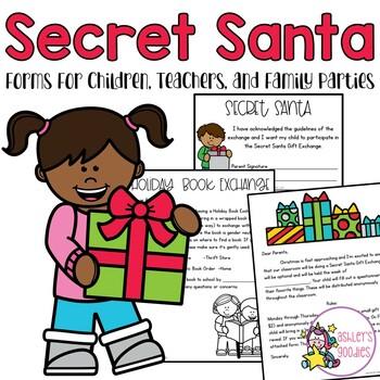 Secret Santa For Staff Worksheets  Teaching Resources TpT