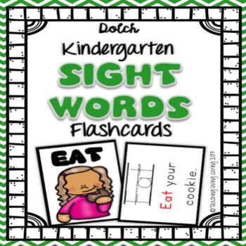 Sight Word Flashcards - Kindergarten Dolch Primer by Teaching Loving - dolch sight word flashcards