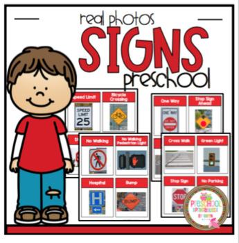 Sign Real Photos by Preschool Printable Teachers Pay Teachers