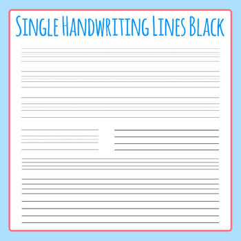 Handwriting Paper With Lines Worksheets  Teaching Resources TpT