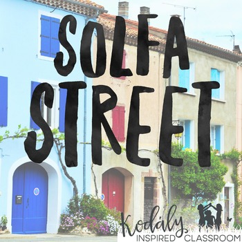 Solfa Street Slides and Bulletin Board Printables by Lindsay Jervis