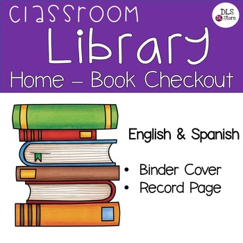 Spanish  English - Classroom Library - Home-Book Checkout by DL Store - checkout a book