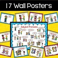 Spanish Subject Pronouns Worksheets and Posters by Debbie ...