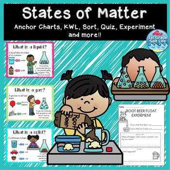 Properties Of Matter Anchor Teaching Resources Teachers Pay Teachers