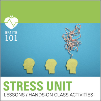 Stress PowerPoint  Activities Powerpoint, Notes and Activities
