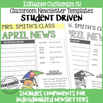 5th Grade Newsletter Template Images - Template Design Ideas - weekly newsletter template