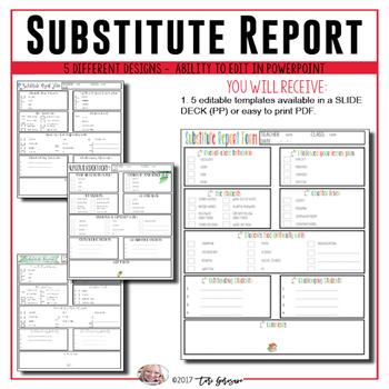 Substitute Report by Tori Gorosave - A Middle School Teacher\u0027s Journey