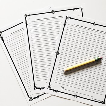Free Thanksgiving Writing Paper (Lined Writing Paper) TpT