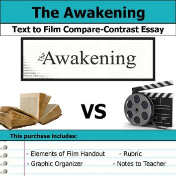 The Awakening by Kate Chopin - Text to Film Essay by S J Brull TpT