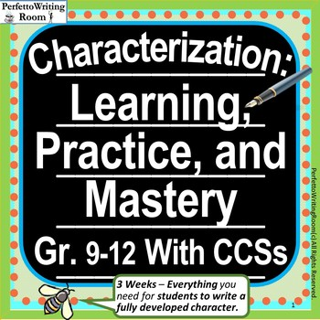 Tpt Characterization Teaching Resources Teachers Pay Teachers