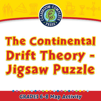 Continental Drift Theory Teaching Resources Teachers Pay Teachers