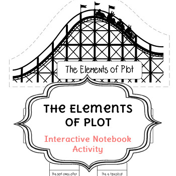 The Elements of Plot Interactive Notebook Activity TpT