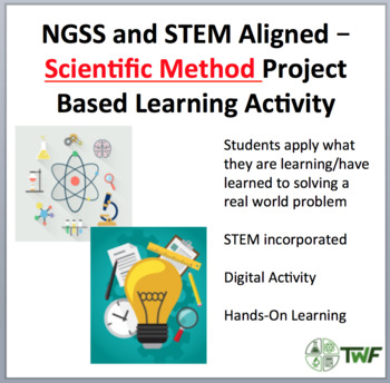 The Scientific Method Project Based Learning Activities (PBLs) TpT