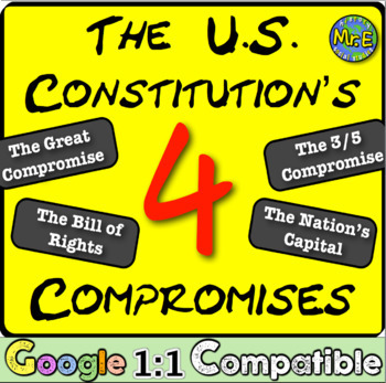 The US Constitution\u0027s Four Compromises The deals that created the