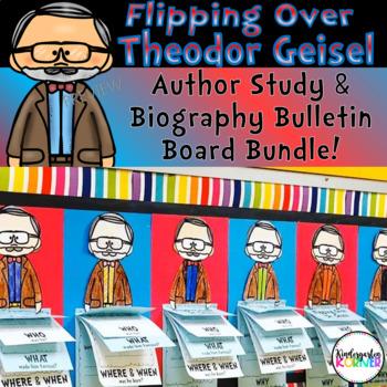 Theodor Geisel Dr Seuss Author Study Biography Flip Books Bulletin