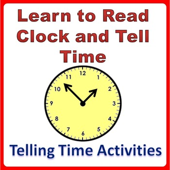 Telling Time Worksheets and Clock Printable Activities Grade K-4 - time worksheets