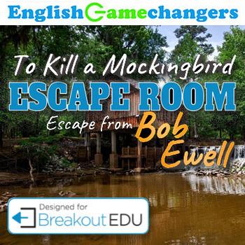 To Kill a Mockingbird Escape Room Escape from Bob Ewell (Breakout EDU) - bob ewell to kill a mockingbird