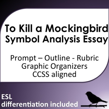 To Kill a Mockingbird Symbol Analysis Essay with ESL support TpT