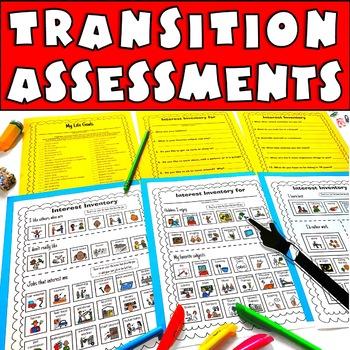 Transition Assessments Mega Bundle IEP Planning for Life Skills and