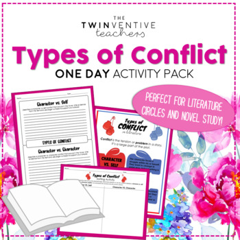 Types Of Conflict Worksheets Teachers Pay Teachers