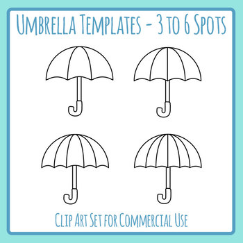 Umbrella Template Worksheets  Teaching Resources TpT