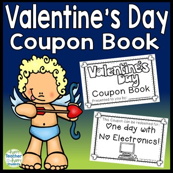 Valentine\u0027s Day Coupon Book 12 Coupons (A FUN No-Prep Gift for Parents)