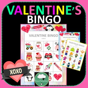 Valentines Bingo Cards With Numbers Teaching Resources Teachers