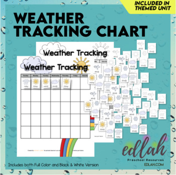 Weather Tracking Sheet Worksheets  Teaching Resources TpT