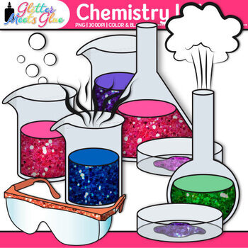 Chemistry Clip Art Science Lab Safety Equipment, Molecules - chemistry safety