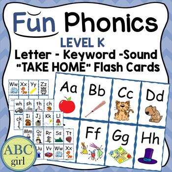 Fundationally FUN PHONICS  Reading System Letter Keyword Sound