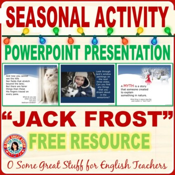 Christmas Activities Winter Poetry \ - poetry powerpoint