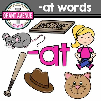 Word Family Clipart - \