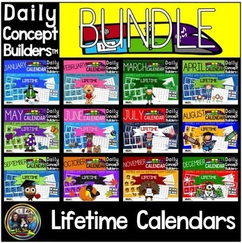 Word of the Day Calendar Bundle by SOL Train Learning TpT