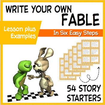 Fables Writing Unit 54 ELA Creative Writing Prompts Task Cards TpT - creative writting