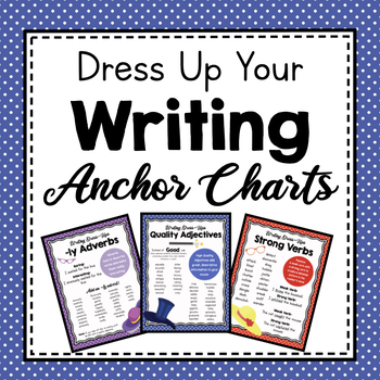 Writing Dress-Ups- Editing for Quality Word Choice by Simply Schoolgirl