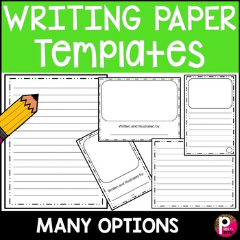 Horizontal Writing Paper Teaching Resources Teachers Pay Teachers - horizontal writing paper