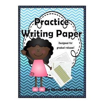 Colored Handwriting Paper Teaching Resources Teachers Pay Teachers - colored writing paper