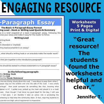 4 Paragraph Essay / How to Write a Four Paragraph Essay Introduction