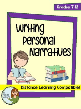 Writing a Personal Narrative Essay by One Teacher\u0027s Adventures TpT