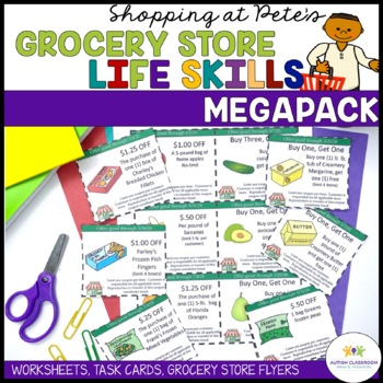 Special Education Grocery Store Activities for Functional Life