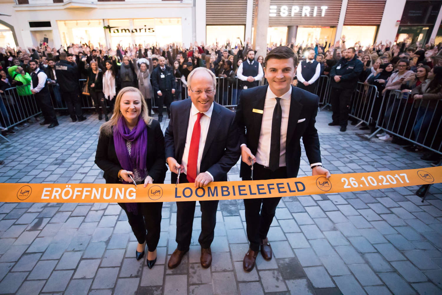 Bielefeld Shopping Loom Bielefeld New Shopping Center Opens On Thursday Ece Real