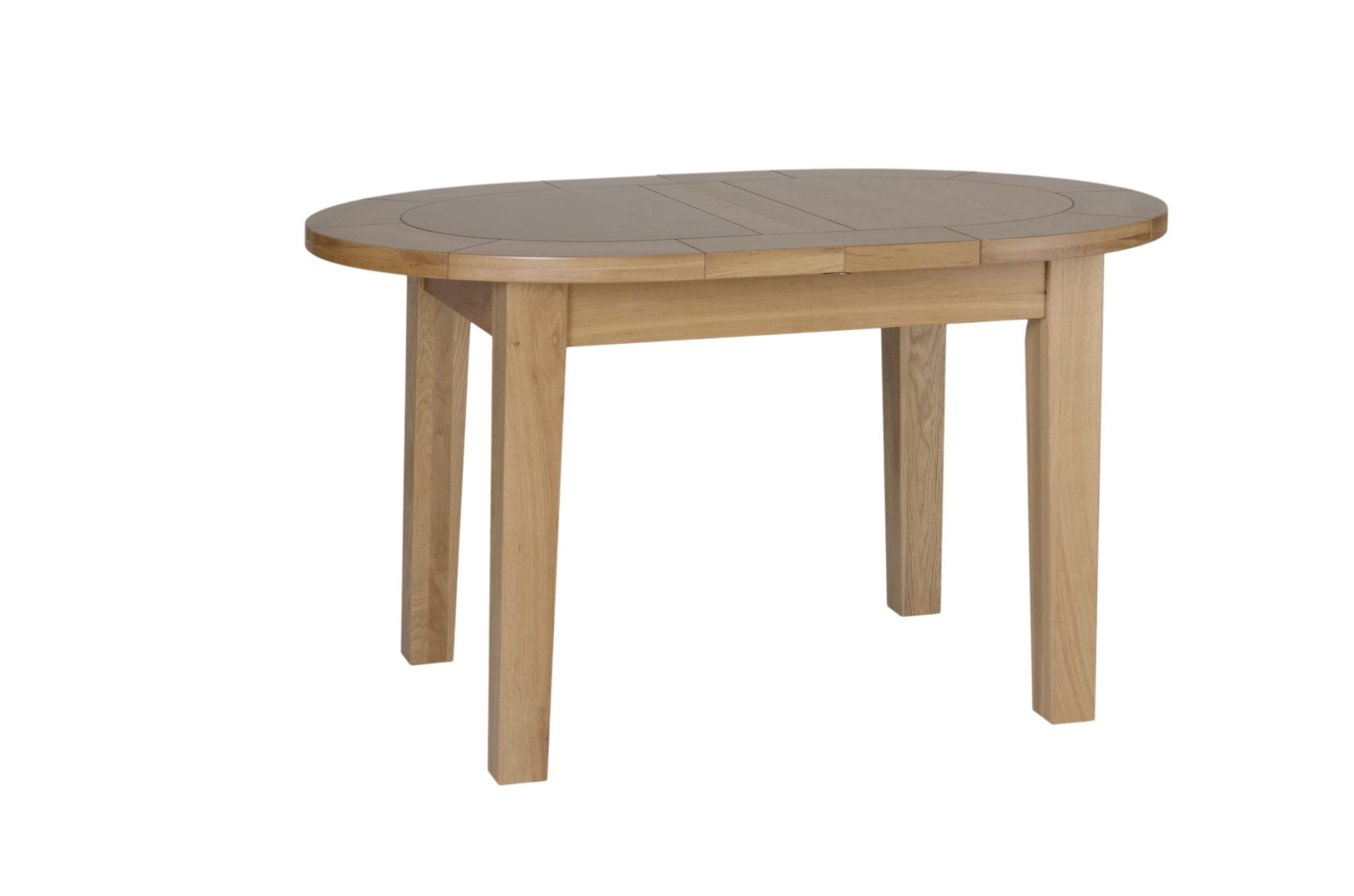 Small Extension Dining Tables Norwich Oak Small D End Extending Dining Table Edmunds